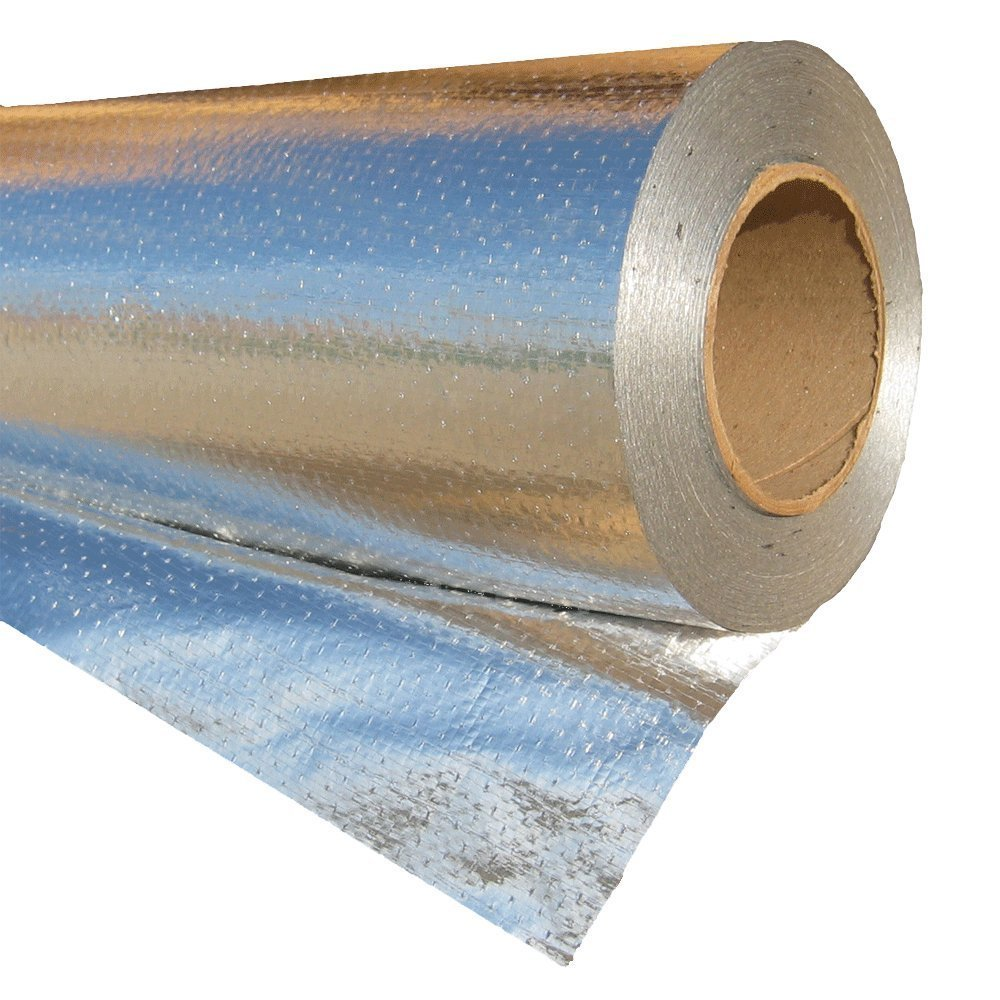 250sqft Solid White Radiant Barrier Attic Foil Reflective Insulation Shield