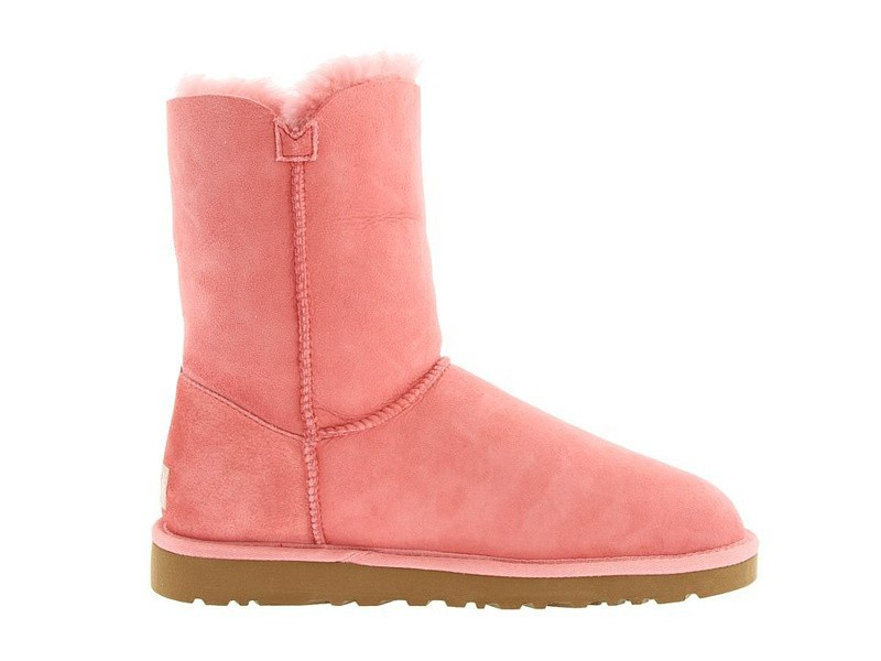 UGG Bailey Bouton Bottes 5803 Pale Red_3
