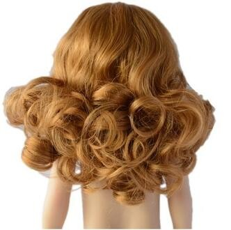 beautiful china doll with real hair coulorful hair doll piece for doll wigs for girldoll hair