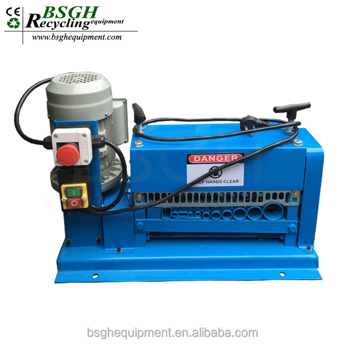 Super strip cable used cable stripper recycling equipment electronic waste recycling machinery
