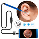 Wireless Ear Cleaning Endoscope, 3.9mm Lens WiFi Ear Otoscope Inspection Camera for Android, iPad iPhone