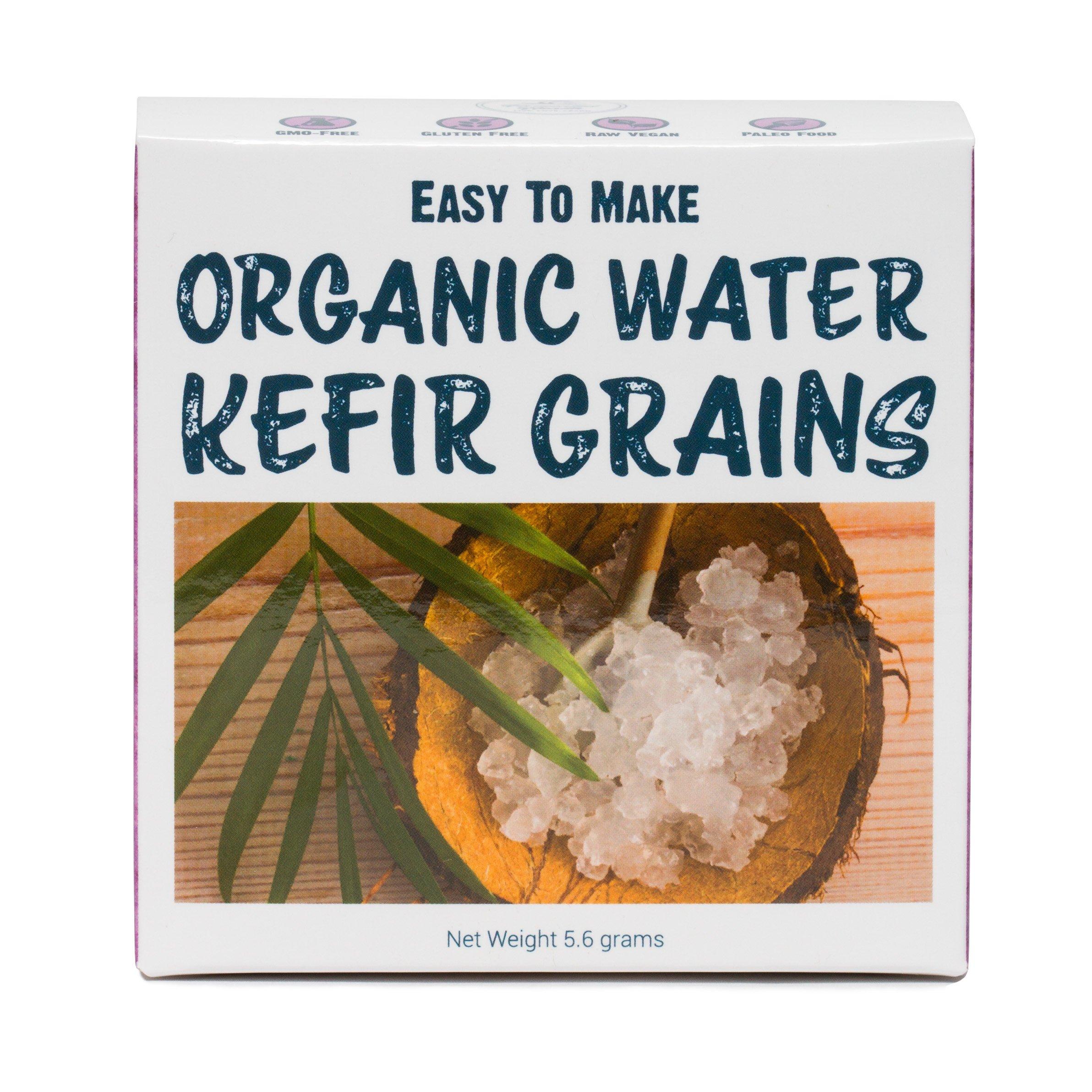 DIY Water Kefir Grains - Organic Raw Water Kefir Grains - Simple Instructions, Healthy, Delicious, Vibrant Water Kefir Grains | Organic Water Kefir Grains
