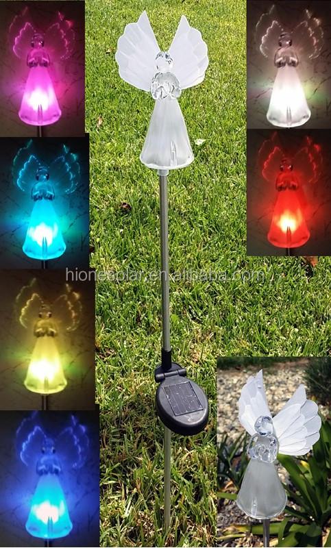 Patriot Lighting Color Changing Hummingbird Solar Light For Garden  Decoration