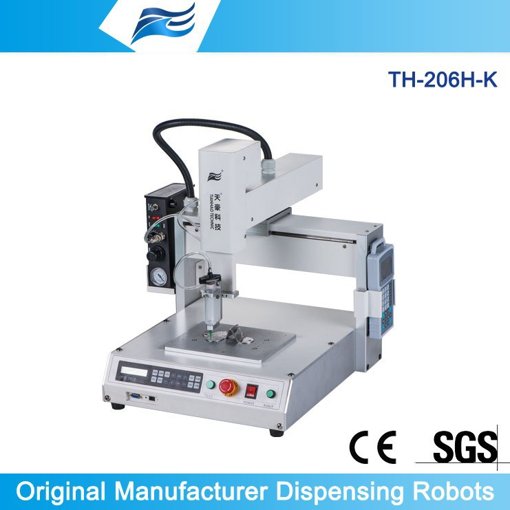 robotic arm with 3 axis x, y and z TH-206H