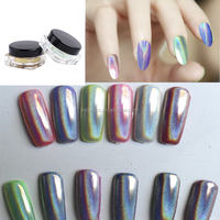 Mixcoco holographic pigment nail powder nails for nail polish with best quality