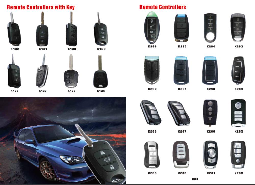 High Quality Universal Car Remote Control Garage Door Remote Control