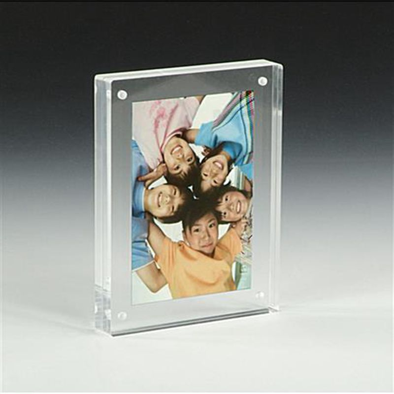 wholesale mini acrylic magnetic photo frame, Acrylic photo picture frame