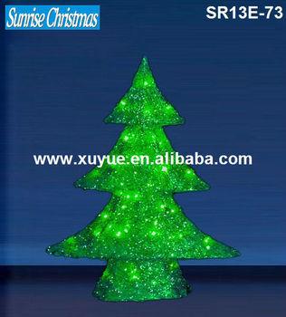 Sisal Led Christmas Tree Light/ Christmas Cone Decoration With ...