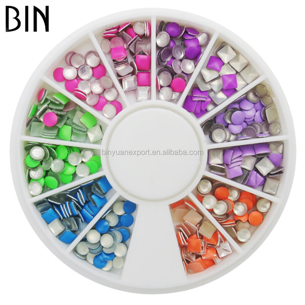 BIN brand new and fashionable mix designs Japanese 3d nail art decoration