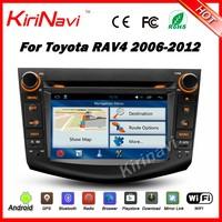 Kirinavi WC-TR7015 android 5.1 car radio audio dvd player for toyota rav4 2006-2012 dab radio multimedia system WIFI 3G
