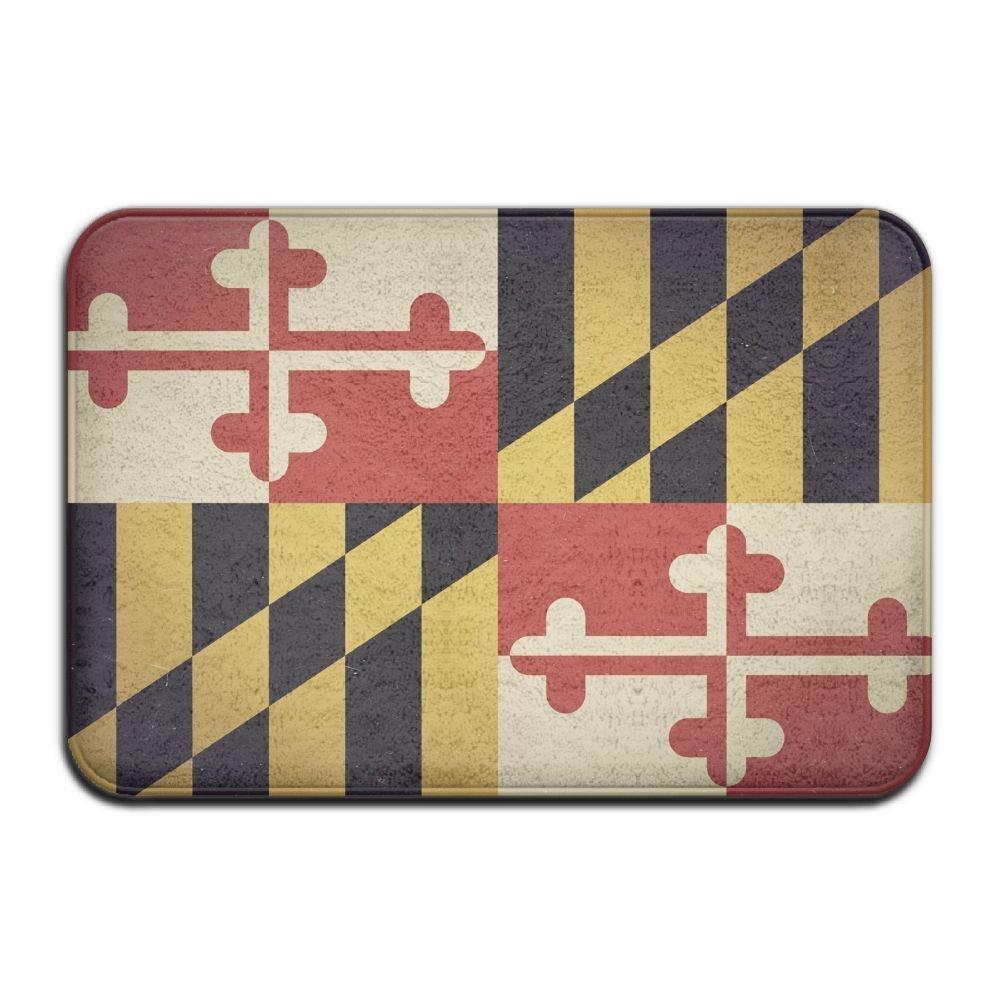 Get Quotations Maryland Flag Cute Non Slip Durable Thin Front Door Apartment Trucks Doormats Mats Pets