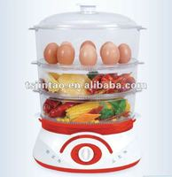 Digital plastic food steamer can steam vegetable and egg