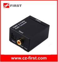Digital Toslink Coaxial Audio to analog RL Audio converter Decoder