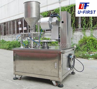 U-First hot selling weighing filling sealing machine