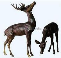 Casting Bronze Sculpture Statue Deer Statue Stag Sculpture