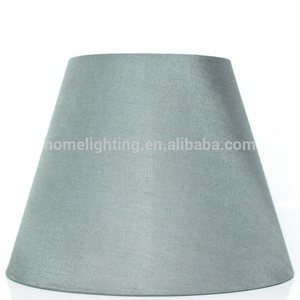 JLS-B03 blue round fabric silk lampshade for table lamp victorian shades made of seashell