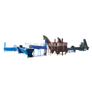 2017 high quality pet plastic recycling machine , pet washing line , pet plastic recycling line