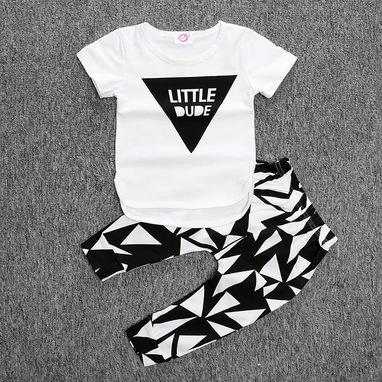 f7caf8f264b4 Baby Boy Clothes 2017 Brand Summer Kids Clothes Sets T-shirt+pants ...