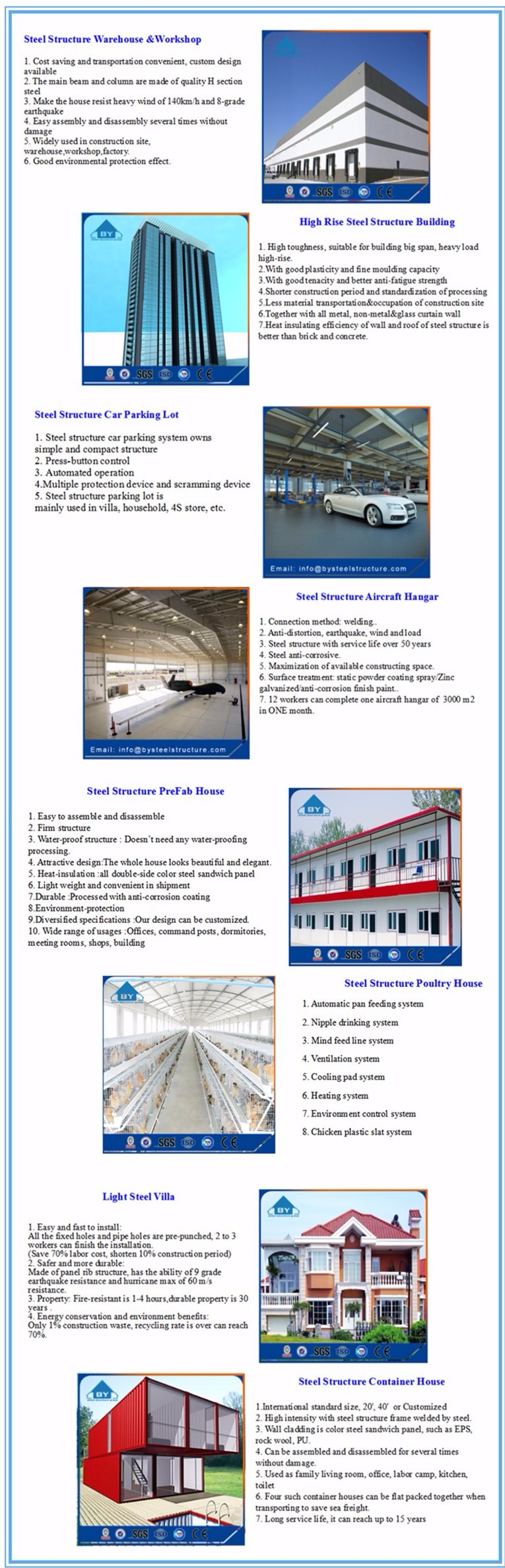 Low Cost High Quality Prefab Steel Structure Warehouse Design