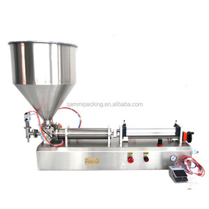 High Quality Full pneumatic piston filler for shampoo,bath gel,liquid detergent (100-1000ml)
