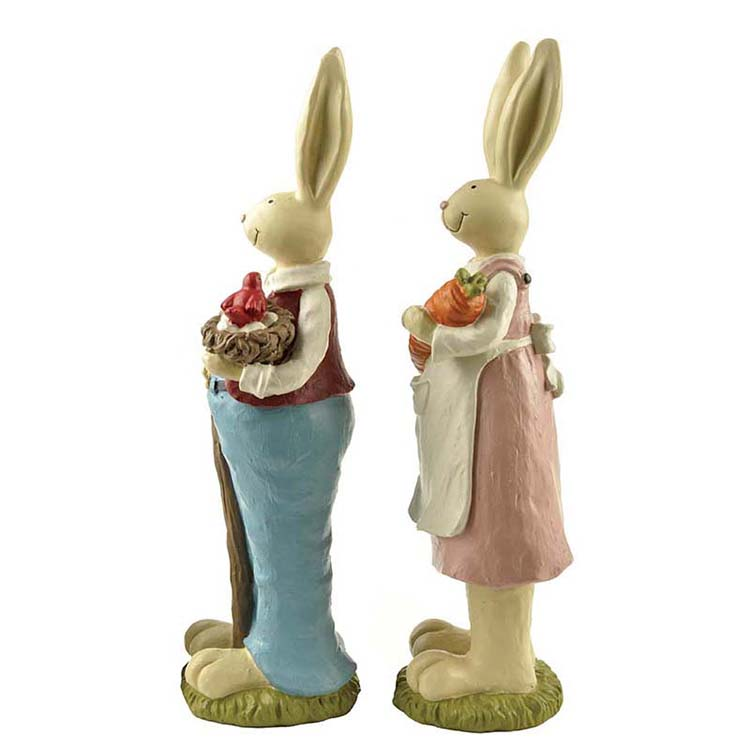 Easter bunny decoration,Easter bunny, Easter resin bunny