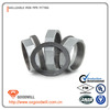 Hot dip galvanized cast iron pipe fitting flat seat union with gasket