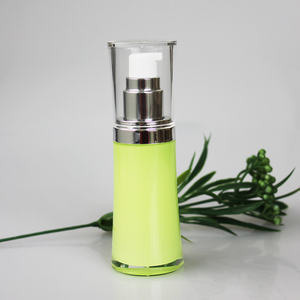 Eco friendly PP 50ml cosmetics plastic body lotion pump bottle, honey packing airless bottle