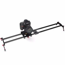 carbon fiber 60cm Camera Slider Track Dolly Rail Stabilizing Photograph Movie Film Video Stabilizer