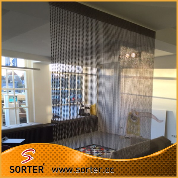 Metal Ball Chain Curtain Room Divider Office Cubicle Curtains