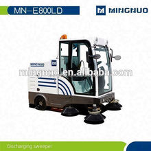 medium vacuum street sweeper, road cleaning machine, vacuum cleaning equipment