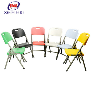 modern used plastic folding chairs for sale