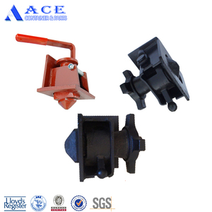 Locking Mechchanism Flatbed Trailer Container Twist Lock