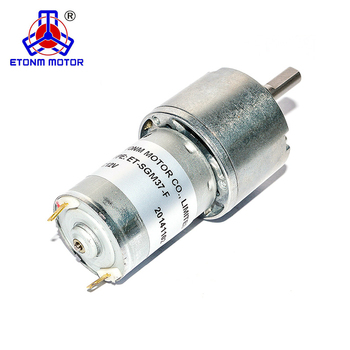 ET-SGM37F+E 12V DC Gear Motor with Encoder