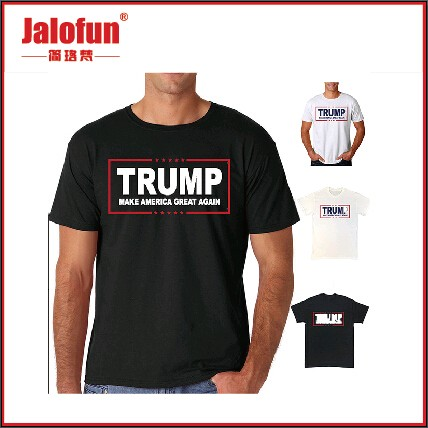 full print 120g jersey t shirt for USA election