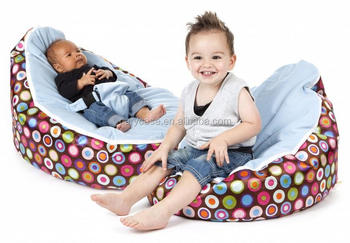 Brilliant Luxury Cuddle Soft Bright Polka Dot Gaga Baby Bean Bags Bubbles With Orange Blue Pink White Harness 2 Upper Cover Seats Buy Baby Pabps2019 Chair Design Images Pabps2019Com