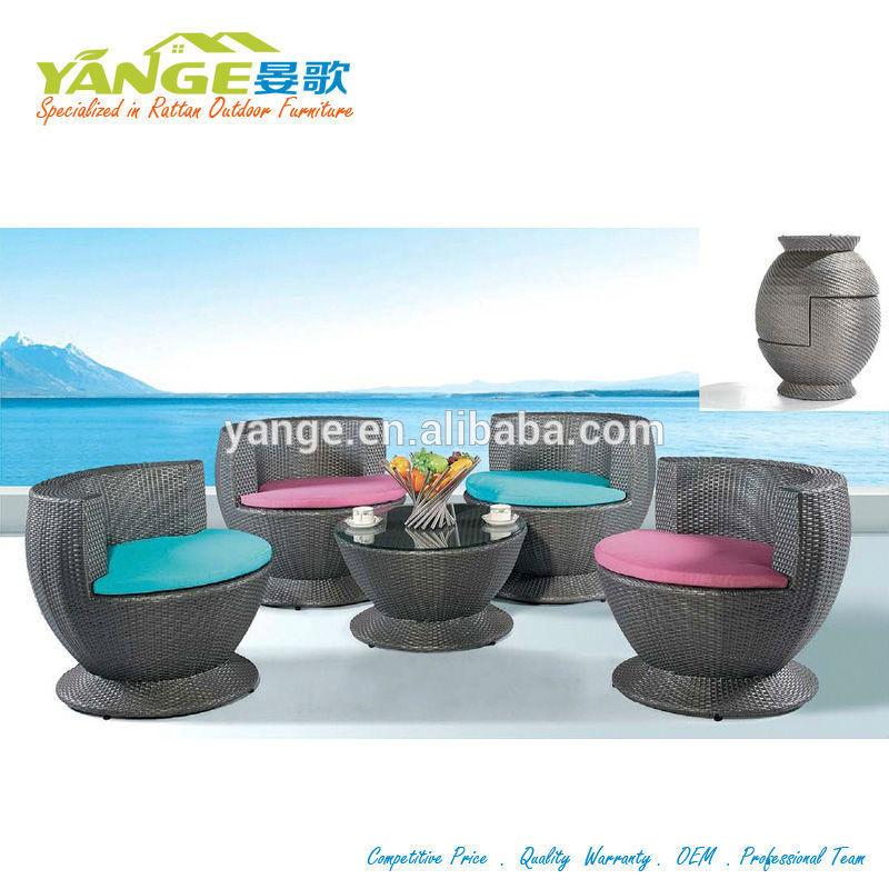 Ratán muebles de jardín para costco sofá-cama muebles-Conjuntos de ...