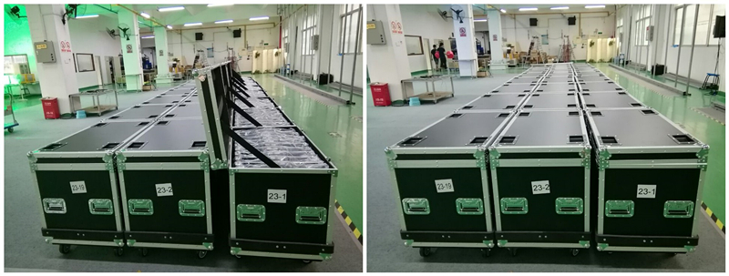Super brightness full color rental P2.5 led sign display - shenzhen factory