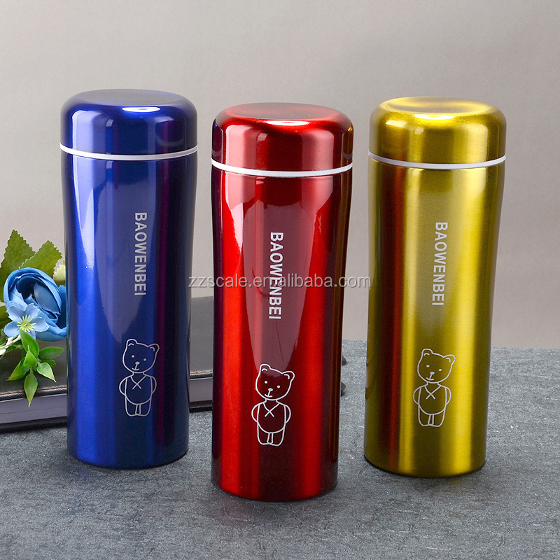 Bachelor Cup customized logo color double wall stainless steel thermos OEM