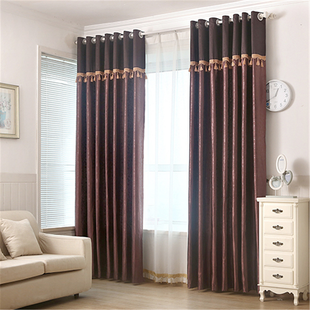 Free sample offered restaurant window cloth fabric curtains,blackout sun shade curtain,drapes