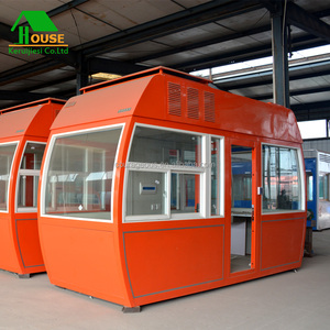 outdoor security booth prefab toll booth/watch box/ticket/house