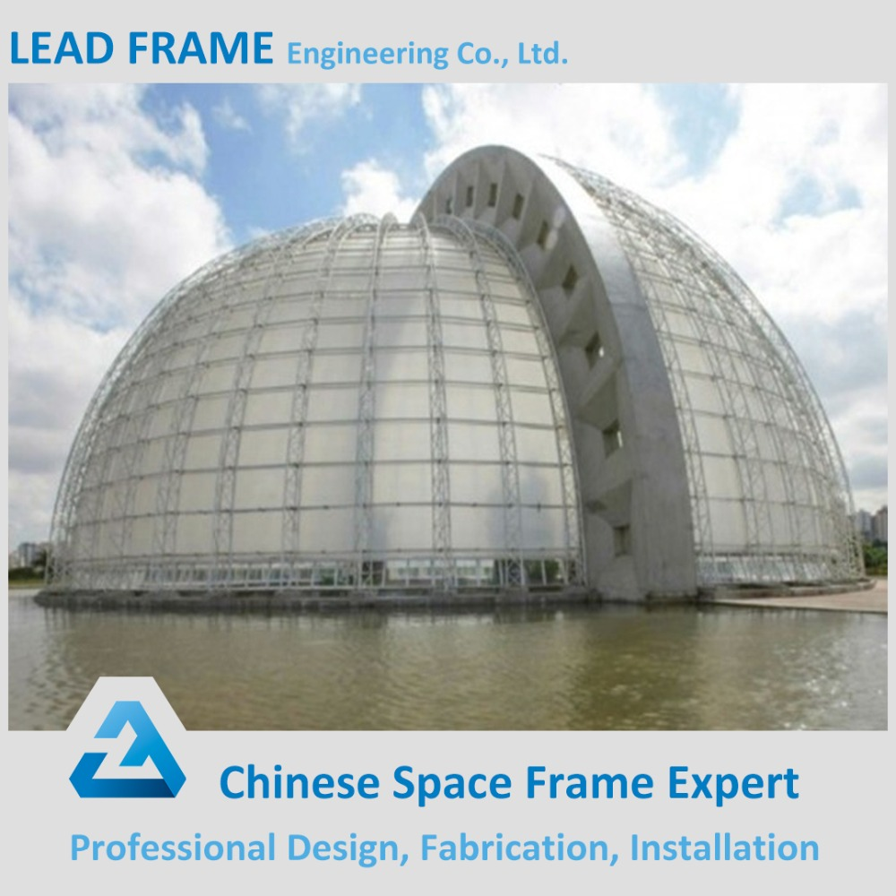 Stainless Steel Space Truss Frame Building Structure