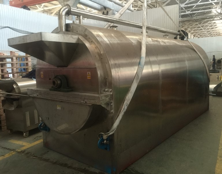 commercial hazelnut roaster/peanut roaster with gas or electric heating /peanut baking