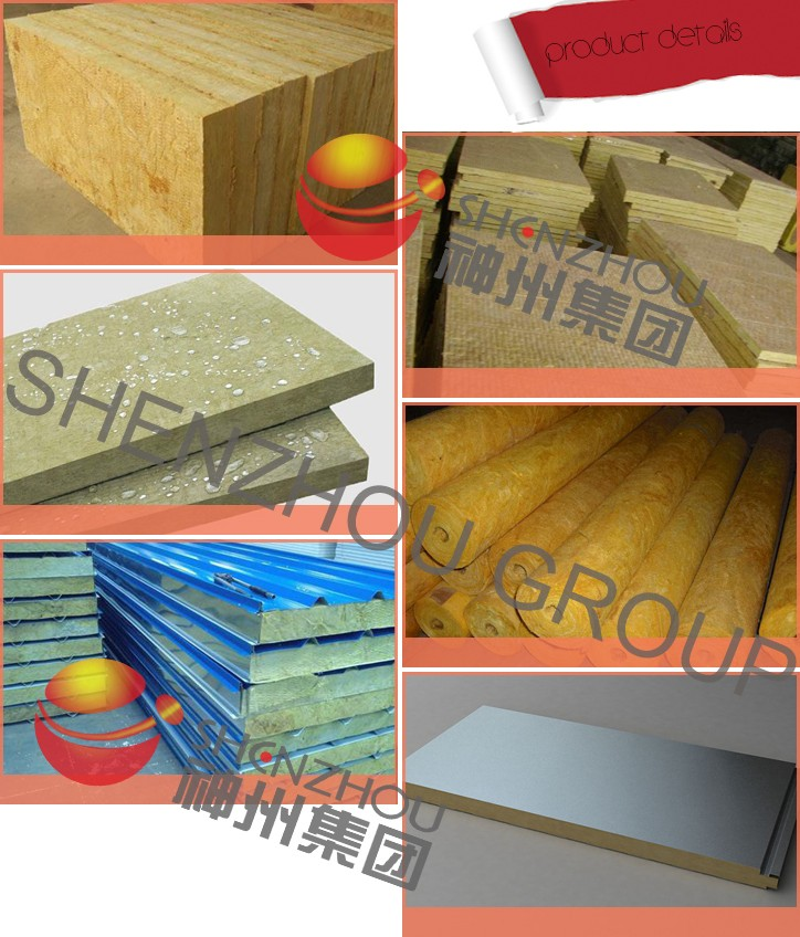 Rock Wool Blanket With Wire Mesh For Roof And Wall