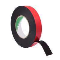 "TOPTAPE free sample Double Sided Foam Tape 1/16"" Thick 36 yds Length x 1/2"" Width Black White Frame And Photo"