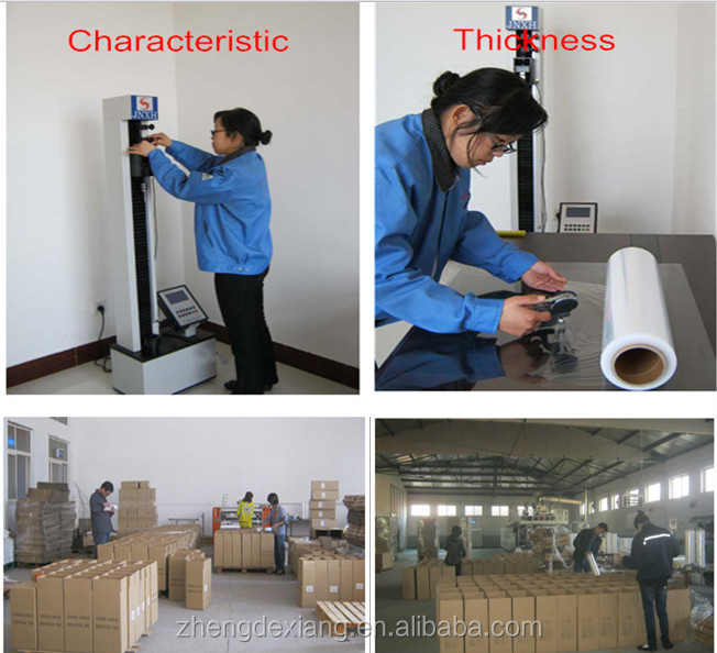 cling wrap film soft Pallet packing  stretch warp film for machine use