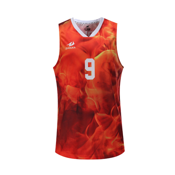 9fa0319ab China Wholesale Customized High Quality Orange Sublimated Printing  Basketball Uniforms For Teams
