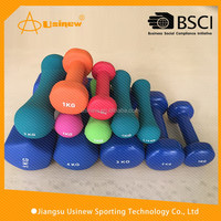 Most popular stylish vinyl dumbbell hand weights