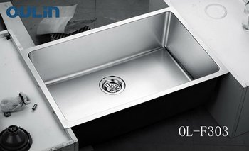 Oulin Kitchen Sink Stainless Steel Water Trough Vegetable