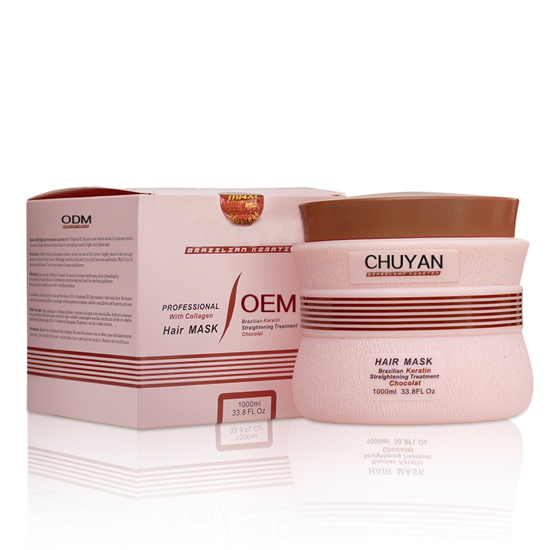Professional best selling products moisturize repair hair keratin and botox treatment oem odm mask for hair