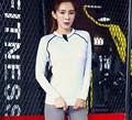 Women Quick Dry Sport Jackets Long sleeved Sweatshirt Woman slim Running Fitness Sport Zipper jacket running
